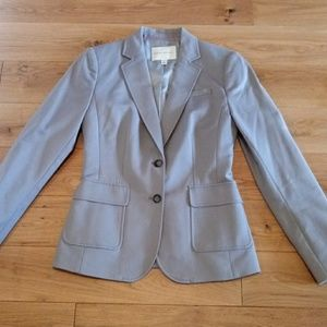 Banana Republic Womens size 6 gray blazer